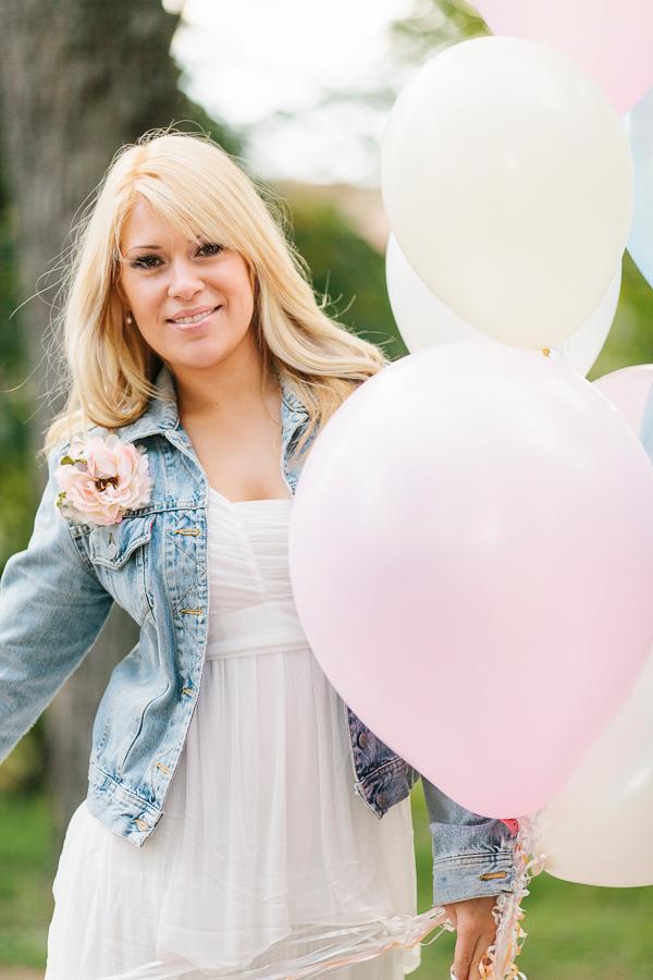 pastellfärgade ballonger